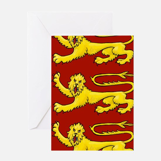 lion passant for cards etc Greeting Card