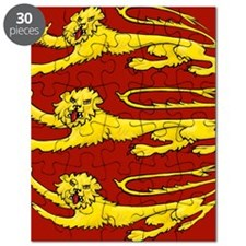 lion passant for round things Puzzle