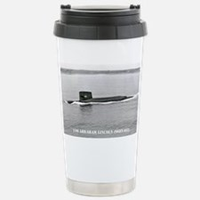 a lincoln sticker Travel Mug