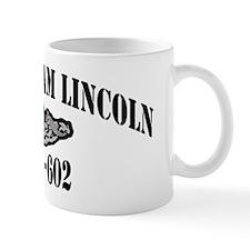 alincoln black letters Mug