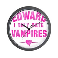 only date vampires Wall Clock