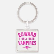 only date vampires Square Keychain