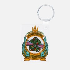 alincoln patch transparent Keychains