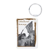 collateral damage Keychains