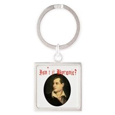 byronic Square Keychain