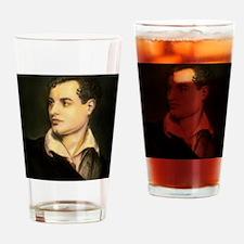 byron portrait coloured Drinking Glass