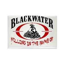 blackwater rev Rectangle Magnet