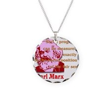 karl_marx_women_2 Necklace