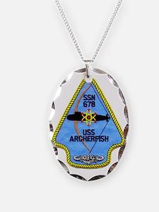 archerfish patch transparent Necklace