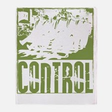 control image copy Throw Blanket