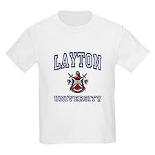 LAYTON University Kids T-Shirt