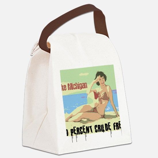 lake michigan 2 Canvas Lunch Bag