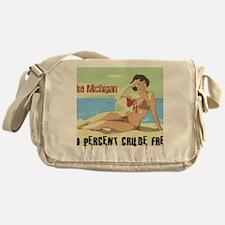 lake michigan 2 Messenger Bag