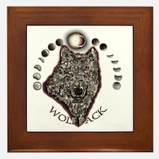 WolfPackCollage10x10 Framed Tile