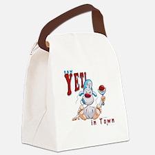 2-YetiBaby02 Canvas Lunch Bag