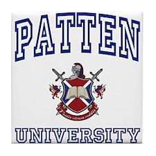 PATTEN University Tile Coaster