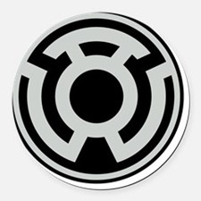 sinestro Round Car Magnet