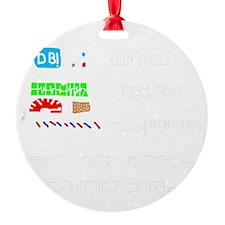 Douchebag.gif Ornament