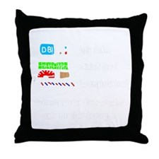 Douchebag.gif Throw Pillow