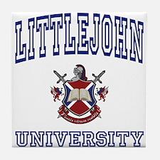 LITTLEJOHN University Tile Coaster