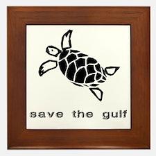 turtle-oil Framed Tile