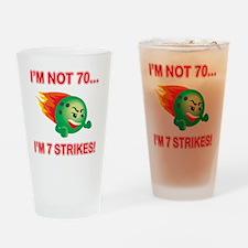 strikes70 Drinking Glass