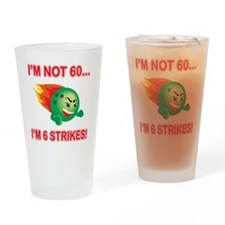 strikes60 Drinking Glass