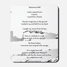 Mysterious Wall 16x20 Mousepad