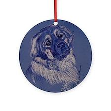 A Dog Understands Round Ornament