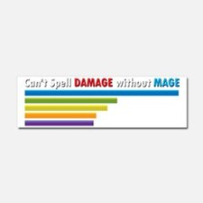 Cant Spell Damage without Mage W Car Magnet 10 x 3