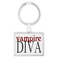vampire diva Landscape Keychain