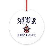 PRINGLE University Ornament (Round)
