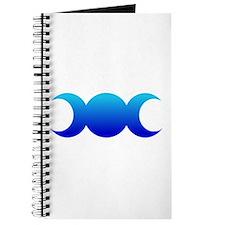 Blue Triple Goddess Journal