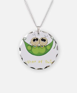 Mother of Twins, Boy/Boy Necklace
