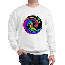 Zen rainbow dragons 11x11 Sweatshirt