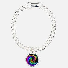 Zen rainbow dragons 11x1 Bracelet