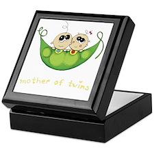 Mother of Twins, Boy/Girl Keepsake Box