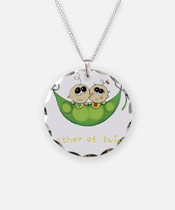 Mother of Twins, Boy/Girl Necklace