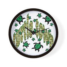 turtle townkids Wall Clock