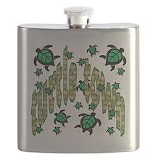 turtle townkids Flask