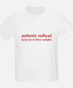 Authentic Redheads Kids T-Shirt