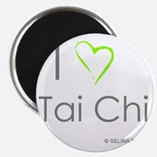I love taichi - middle Magnet