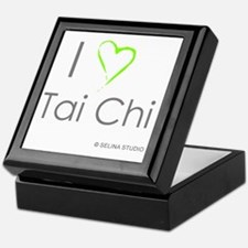 I love taichi - middle Keepsake Box