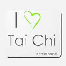 I love taichi - middle Mousepad