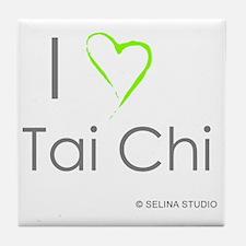 I love taichi - middle Tile Coaster