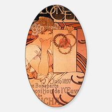 SALON_DES_CENT_1897 Sticker (Oval)