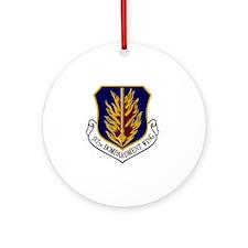 2-97th Bomb Wing Round Ornament