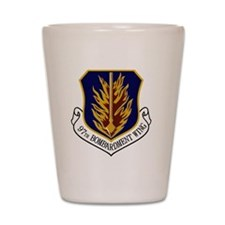 2-97th Bomb Wing Shot Glass