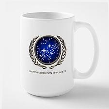 STAR TREK UFP Insignia Large Mug