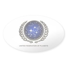 STAR TREK UFP Insignia Bumper Stickers